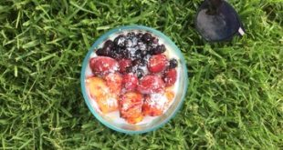 Summer Yogurt Fruit Bowl